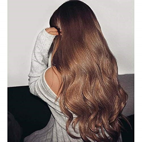 28 Inch Light Brown Hair Extensions Clip Ins