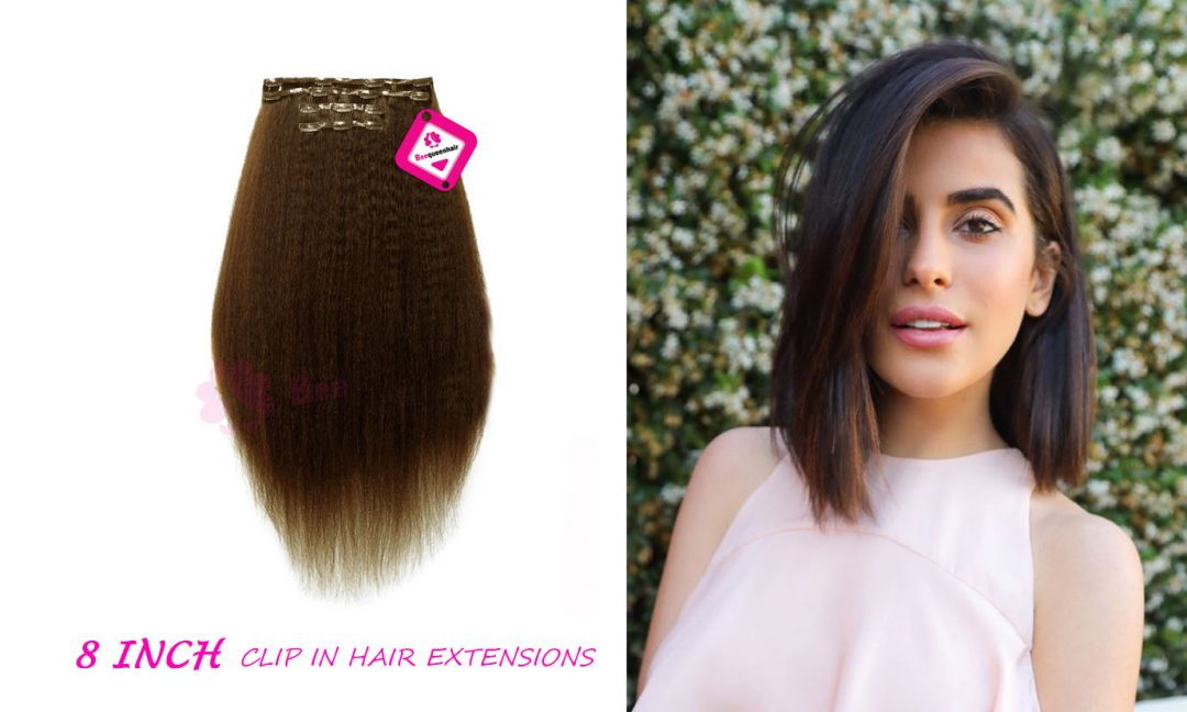 8 Inch Clip In Hair Extension