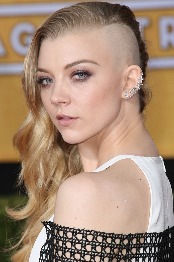 Beautiful Half Shaved Hairstyles For Women