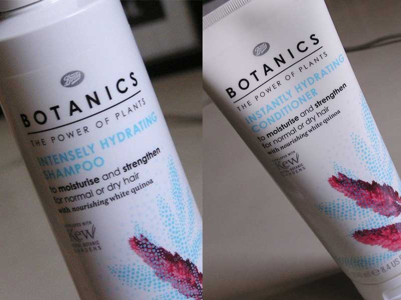 Boots Botanics Intensely Hydrating Shampoo And Conditioner