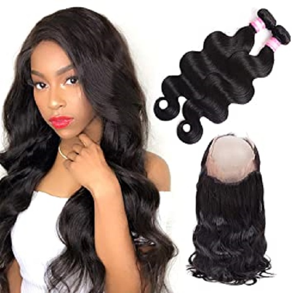 Bundles And 360 Frontal Combo