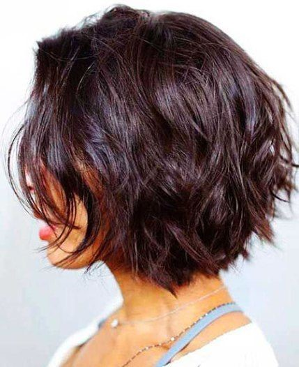 Chin Length Layered Bob