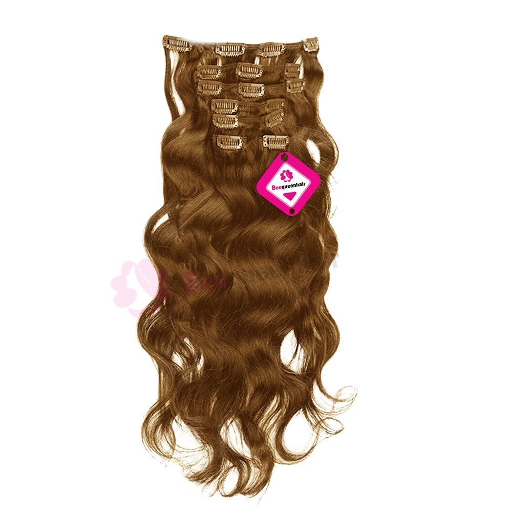 Clip In Water Body Wavy Light Brown 01