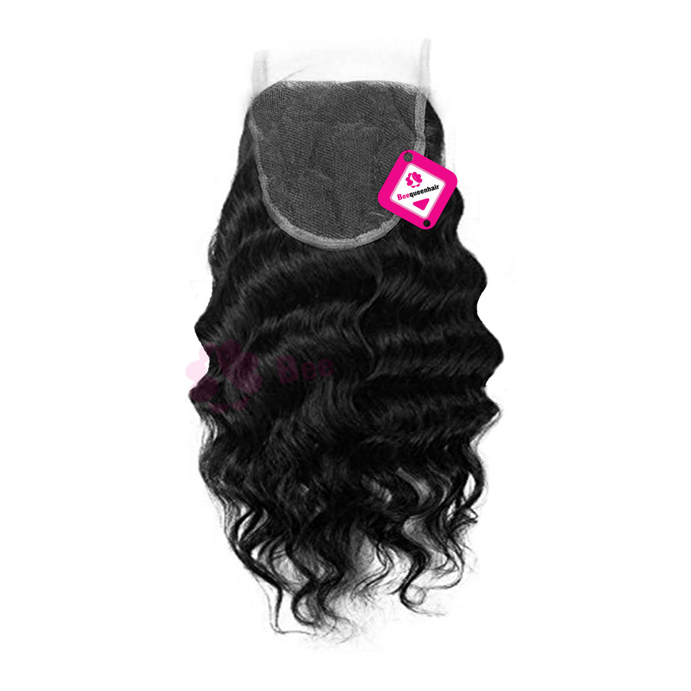 Closure Loose Wavy Black 01