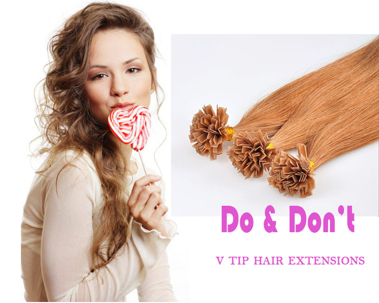 What Are V Tip Hair Extensions