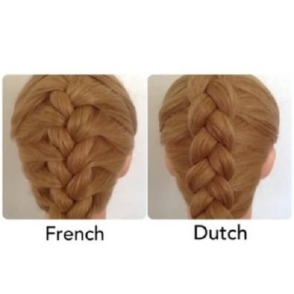 Dutch Vs French Braid