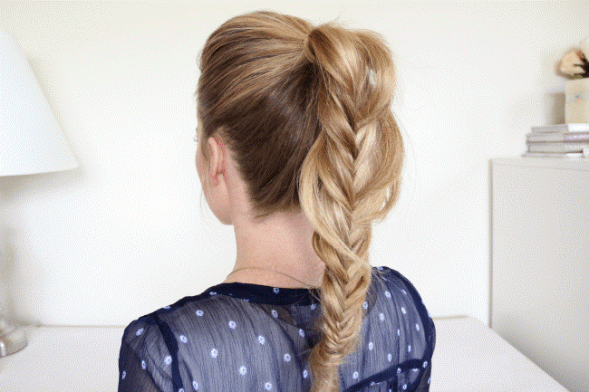Fishtail Ponytail