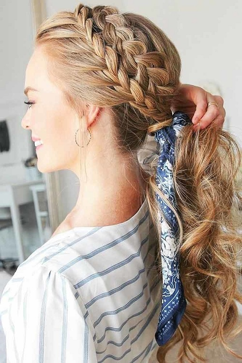 French Braid Crown 02