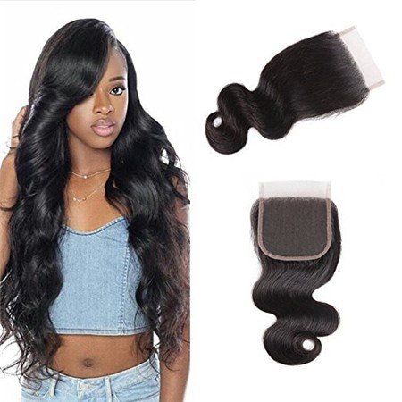Girl With Lace Closure
