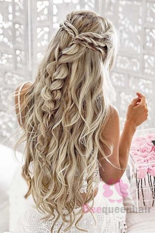 Hair extensions for weddings