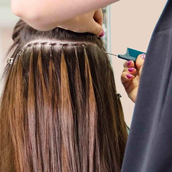 Hot Fusion I Tip Hair Extensions Installation