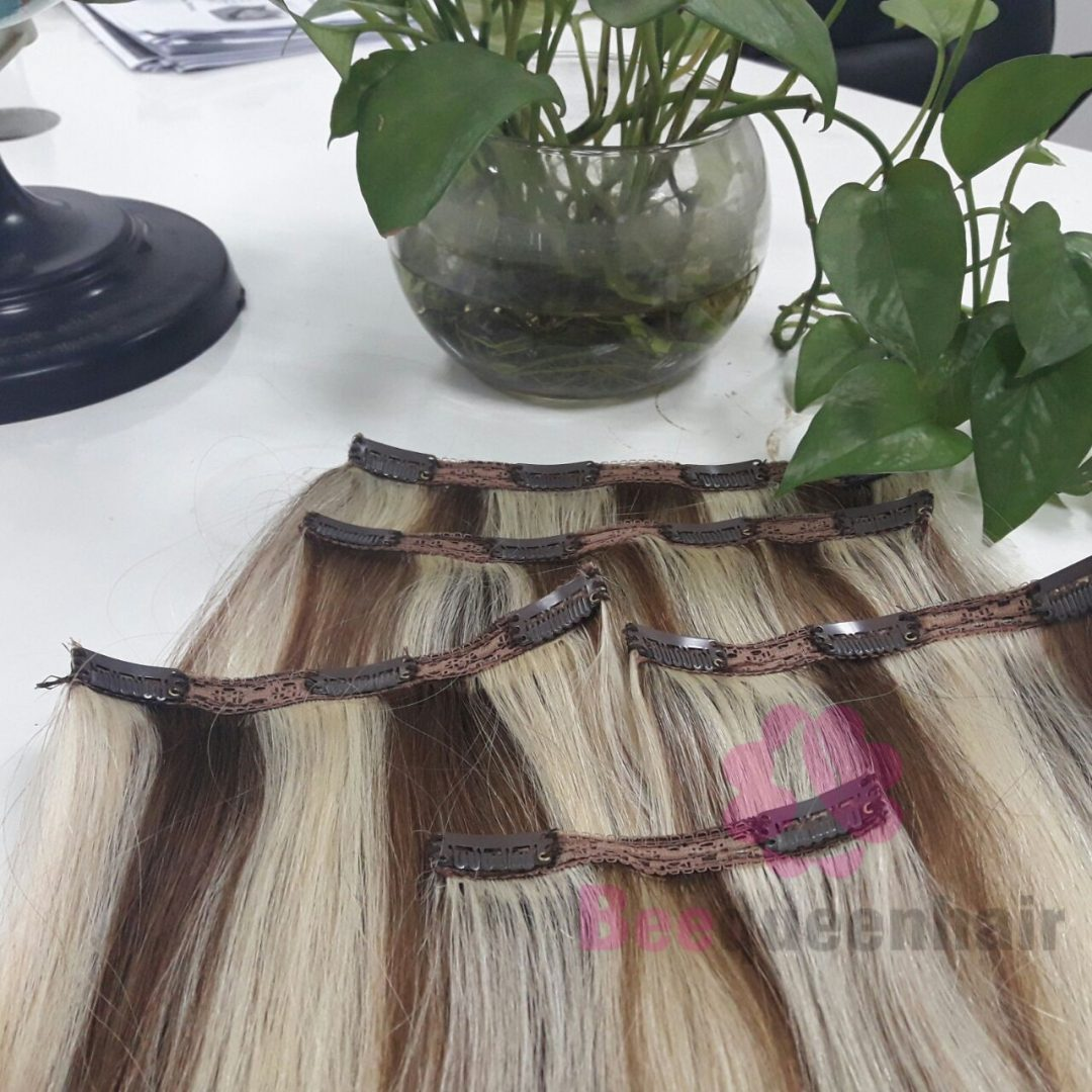 How To Clip In Hair Extensions From Beequeenhair