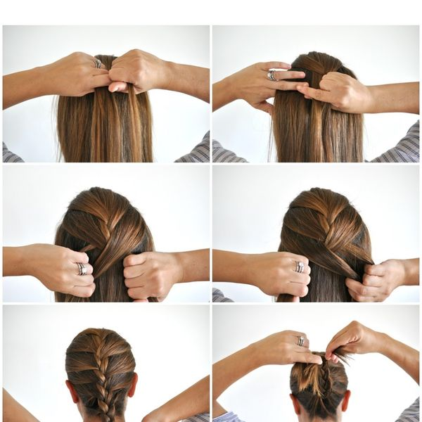 How To French Braid Your Hair Step By Step