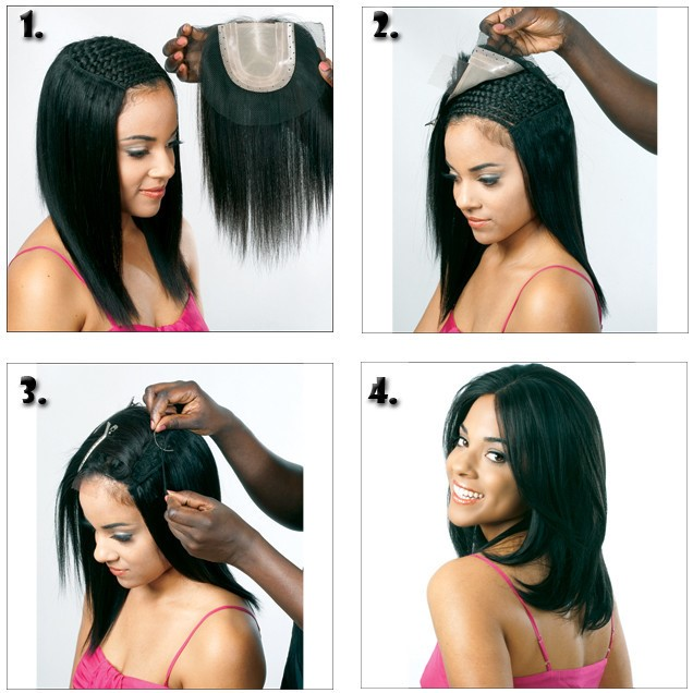 How To Install Lace Closure