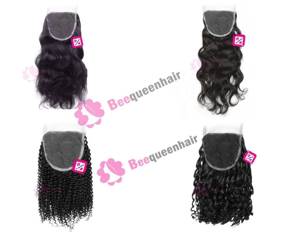 Human Lace Closures Of Beequeenhair