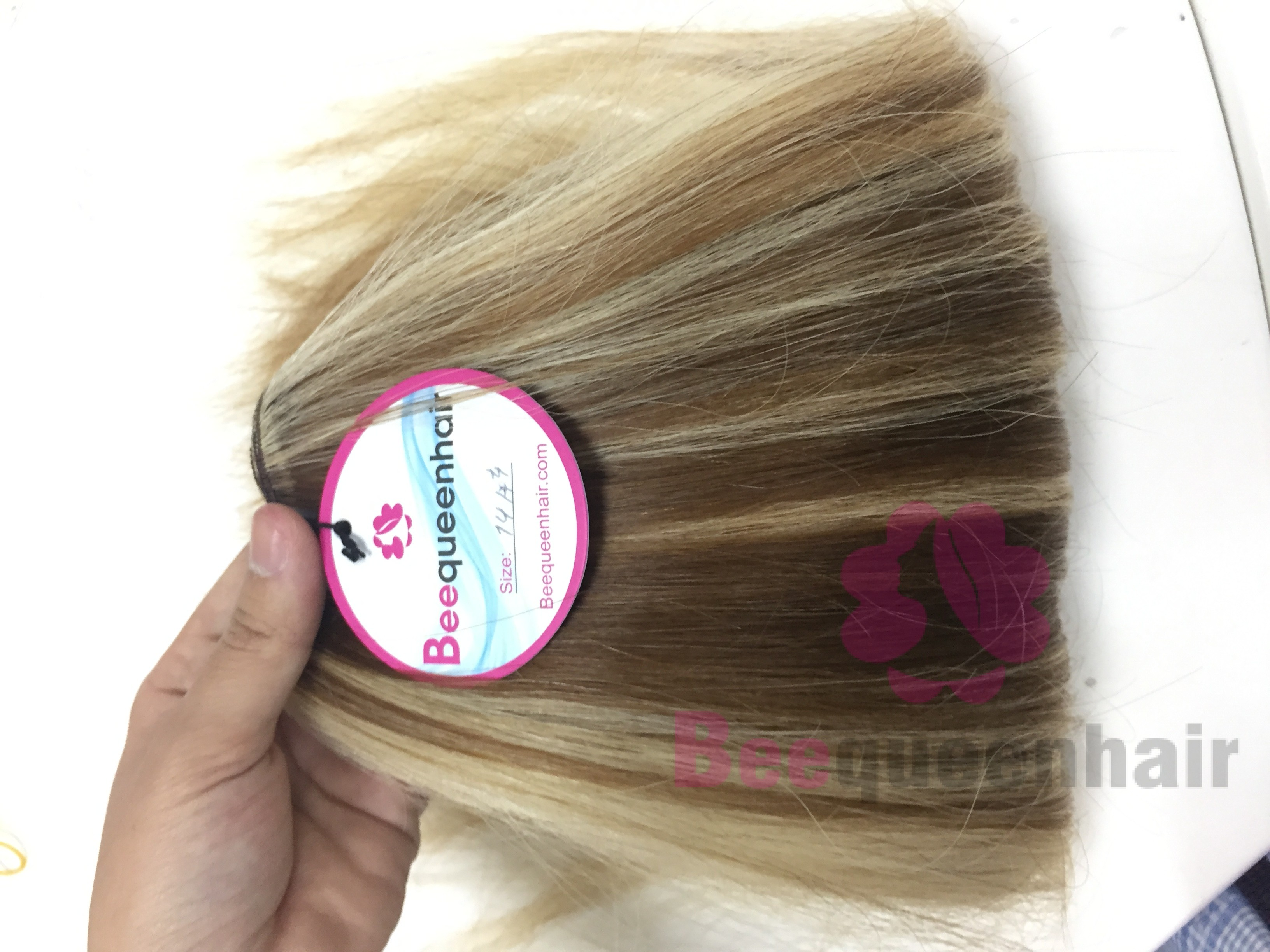 18 Inches Weaves Double Drawn Straight Hair Extensions