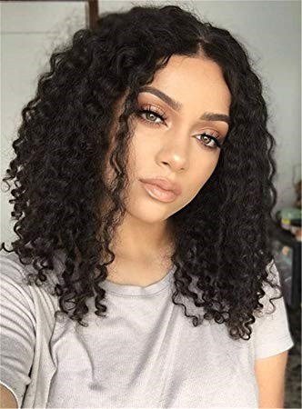 Middle Part Curly Weave