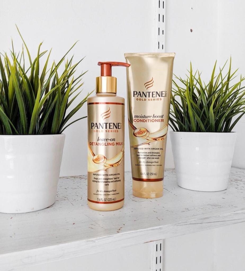 Pantene Gold Series Leave On Detangling Milk