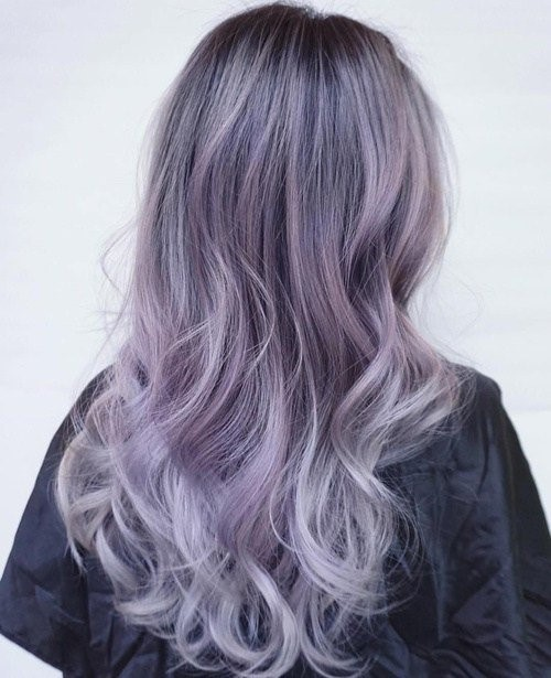 Pastel Purple Hair Color