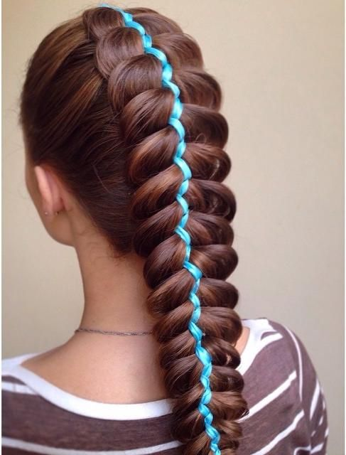 Ribbon Dutch Braid