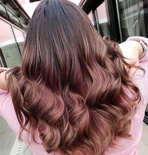 Rose Brown Balayage