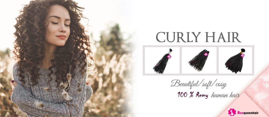 Beequeenhair Curly Hair Extensions
