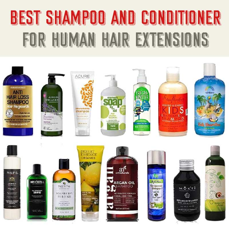 Shampoos And Conditioners For Hair Extensions