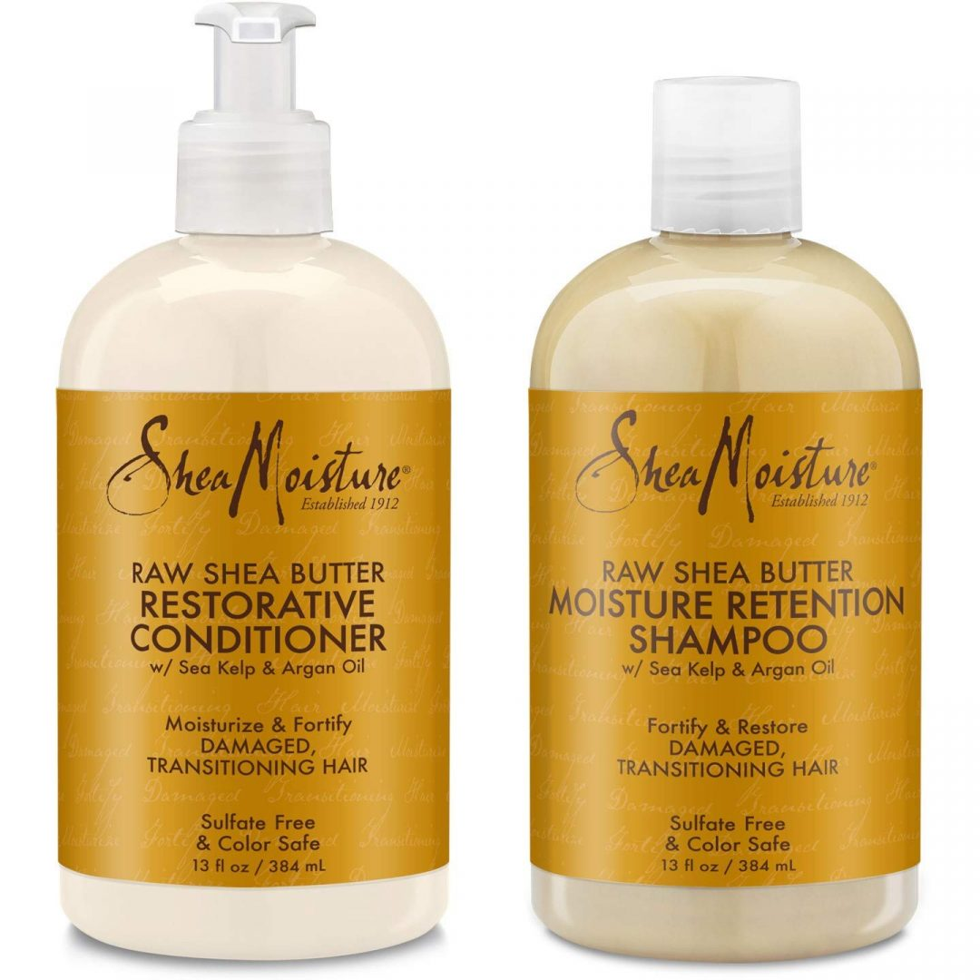 Shea Moisture Raw Shea Retention Shampoo 1