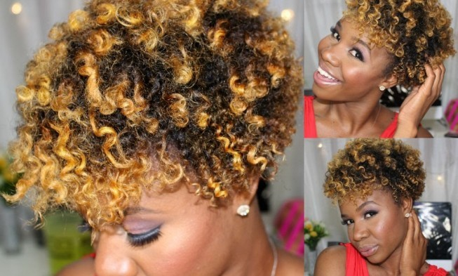 Short Natural Hair With Twists