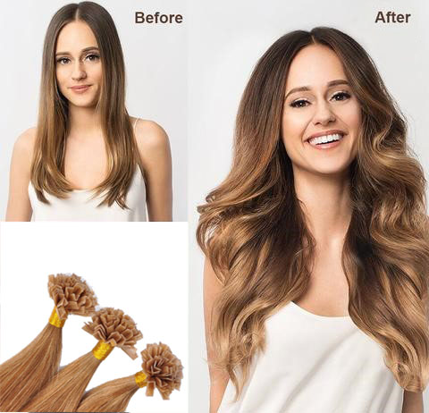 V Tip Hair Before And After