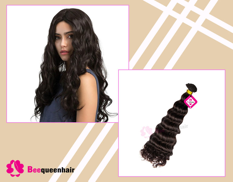 V Tip Hair Extensions Of Beequeenhair